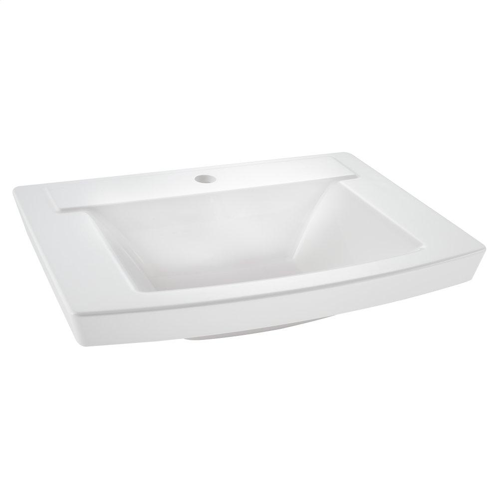 Hidden · Additional Townsend Above Counter Bathroom Sink Center Hole  American Standard   White