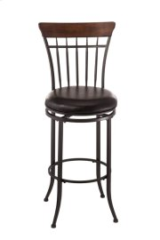 Cameron Ladderback Swivel Counter Stool Product Image