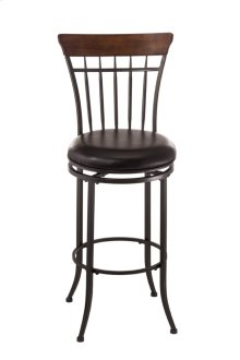 Cameron Ladderback Swivel Counter Stool