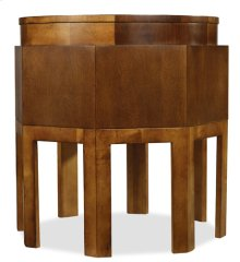 Octagonal Side Table-Floor Sample-**DISCONTINUED**