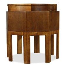 Octagonal Side Table-Floor Sample-**DISCONTINUED**