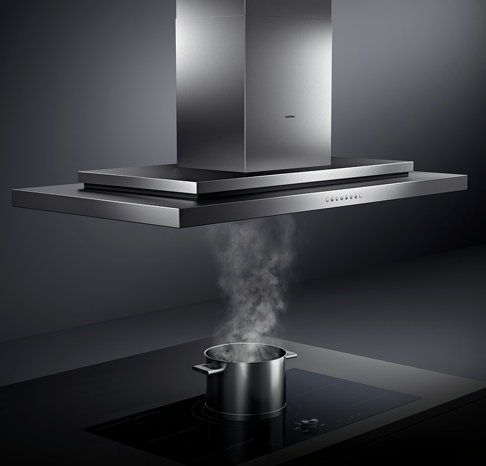 Shop gaggenau ventilation in ma pro range hood ai230700 for Ventilation hotte cuisine