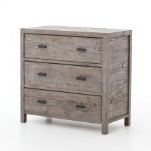 Rustic Black Olive Finish Caminito 3-drawer Dresser