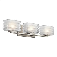 Bazely Collection Bazely 3 Light Halogen Wall Sconce NI