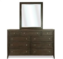Joelle Nine Drawer Dresser Carbon Gray finish