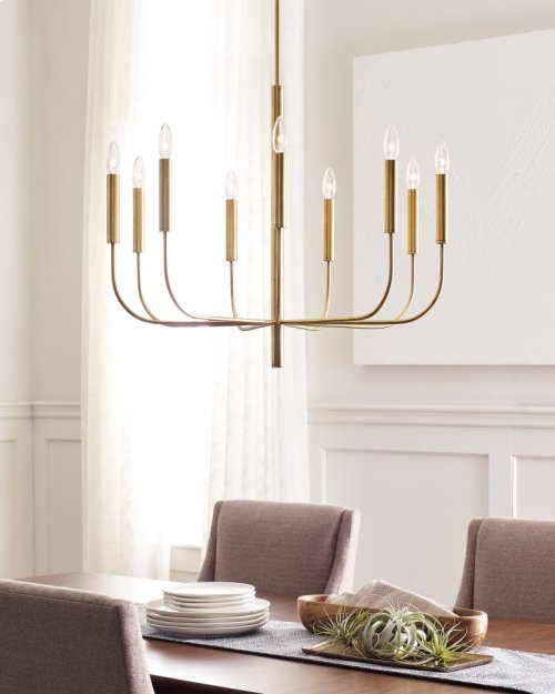 9 - Light Chandelier