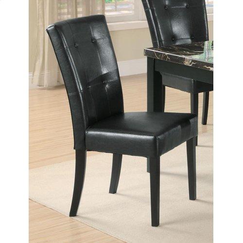 Anisa Black Side Chair