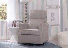 Clair Slim Nursery Glider Swivel Rocker Chair - Dove Grey (034)
