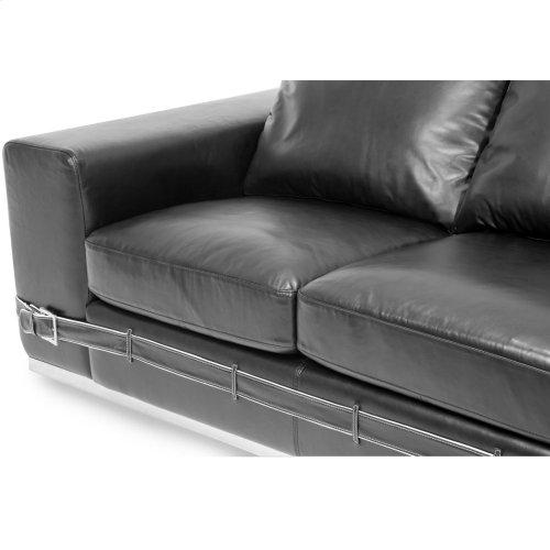 Ciras Leather Loveseat