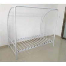 White Twin Soccer Goal Bed