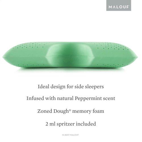 Shoulder Cutout Pillow + Peppermint, Queen