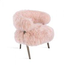 Adele Lounge Chair - Blush Sheepskin