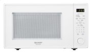 1.8 cu. ft. 1100W Sharp White Carousel Countertop Microwave Oven Product Image