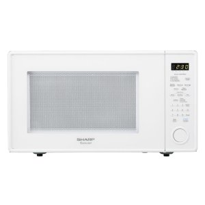 Sharp Appliances1.8 cu. ft. 1100W Sharp White Carousel Countertop Microwave Oven
