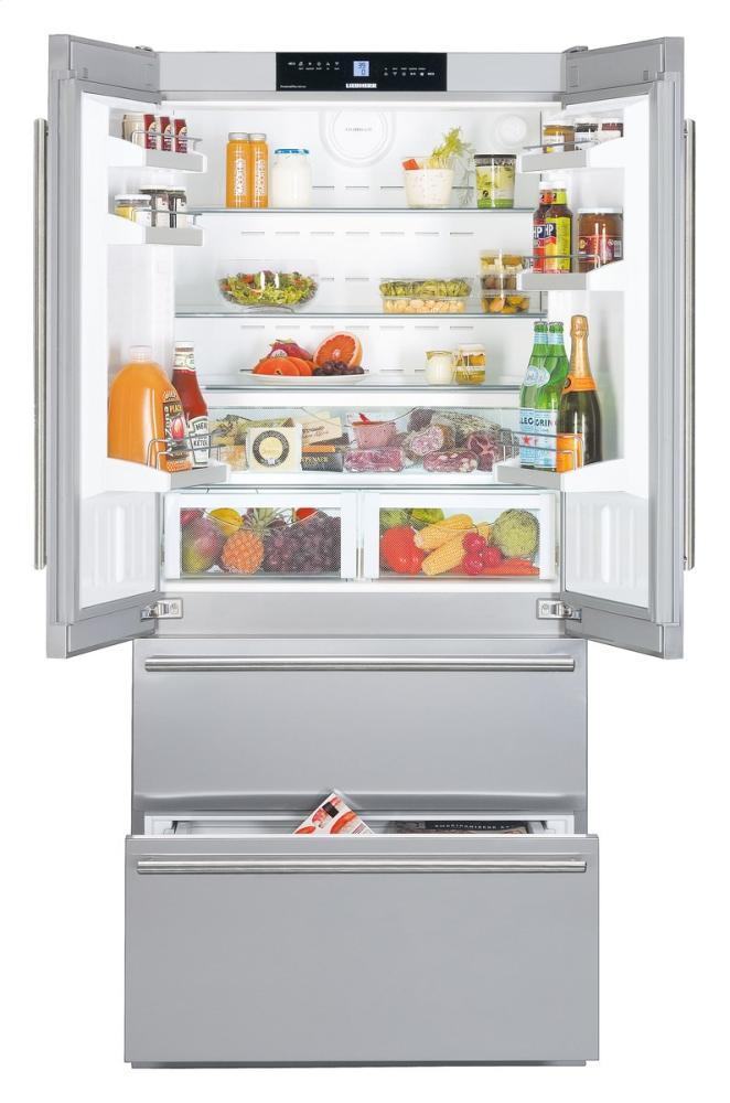 liebherr premium plus series cs2062 36in energy star counter depth bottom freezer french door refrigerator cs206200a3xu600kd120xu in by packages in toronto on   liebherr      rh   aniksappliances com