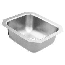 2000 Series 14.5 x 12.5 stainless steel 20 gauge single bowl sink