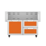 "Hestan42"" Hestan Outdoor Tower Cart with Door/Drawer Combo - GCR Series - Citra"