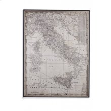 An Antique Map of Italy