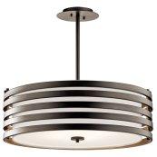 Roswell 4 Light Pendant Olde Bronze®