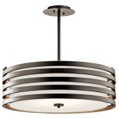 Roswell 4 Light Pendant Olde Bronze®