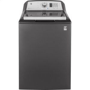 GE® 4.6 cu. ft. Capacity Washer with Stainless Steel Basket Product Image