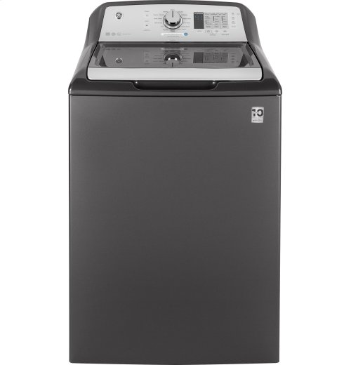 GE® 4.6 DOE cu. ft. stainless steel capacity washer