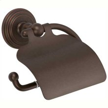 Oil Rubbed Bronze - Hand Relieved Hooded Toilet Tissue Holder