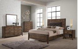 Englewood Full Upholstered Panel Bed