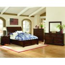Sleigh Bed with Storage (Queen) Product Image