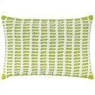 Macrame Pillow, LIME, 14X20 Product Image