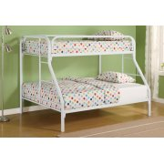 Morgan Twin-over-full White Bunk Bed Product Image