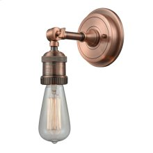 202BP-AC - BARE BULB WALL SCONCE