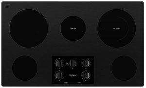 36-inch Electric Ceramic Glass Cooktop with Dual Radiant Element Product Image