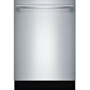 Bosch300 Series built-under dishwasher 24'' Stainless steel SHX863WB5N