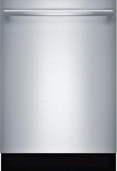 800 DLX Bar Hndl, 6/6 cycles, 42 dBA, Flex 3rd Rck, UR glide, Touch Cntrls, InfoLight - SS Product Image