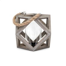 Ares Small Wood Lantern