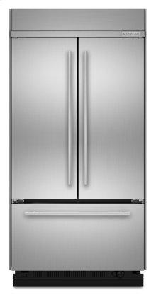 "42"" Euro-Style Built-In French Door Bottom Mount Refrigerator"