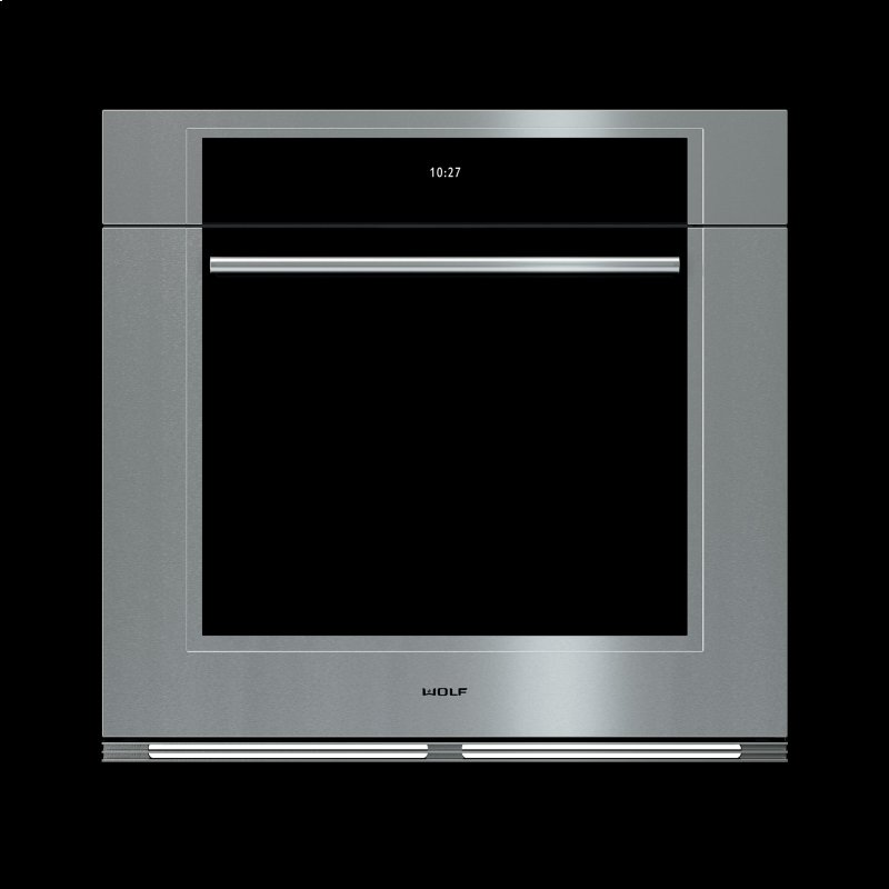30 M Series Transitional Built In Single Oven Open Box Close