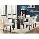 Kenneth Contemporary Black Five-piece Dining Set With LED Lighting Product Image