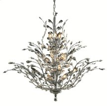 2011 Orchid Collection Large Hanging Fixture Chrome Finish