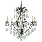 6 - Light Single Tier Chandelier Product Image