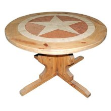"48""round Marble Star Table"