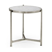 Large glomise & Silver Iron Lamp Table