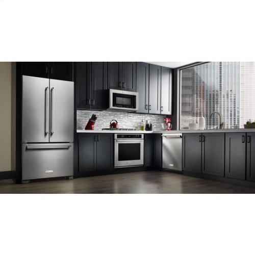 KitchenAid® 44 dBA Dishwasher with Clean Water Wash System - Stainless Steel