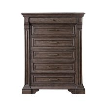 Bedford Heights 6 Drawer Chest in Estate Brown