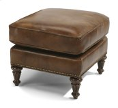 Flemington Leather Ottoman