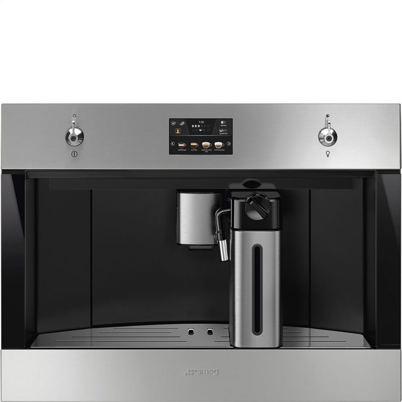 24'' Fully-automatic built-in coffee system