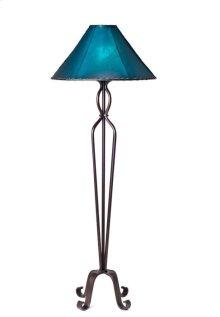 Forged Iron Floor Lamp No Shade