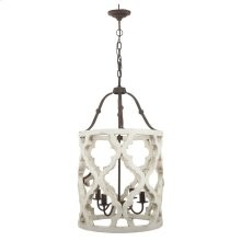 Jolette 4-Light Chandelier,Wood
