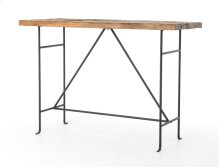 Yardley Bar Table-bleached Pine/rust Brn